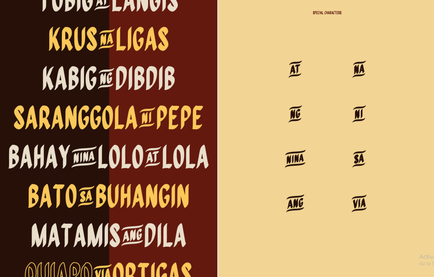 Free Filipino Inspired Fonts For Your Next Project L Fe The Philippine Star