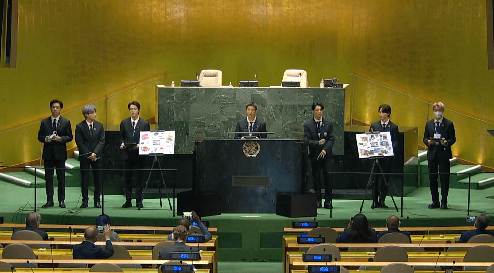 BTS at the 76th UN general assembly